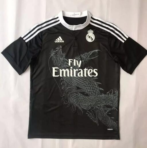 Real Madrid Retro Soccer Jerseys 2014-15 Away Football Shirts