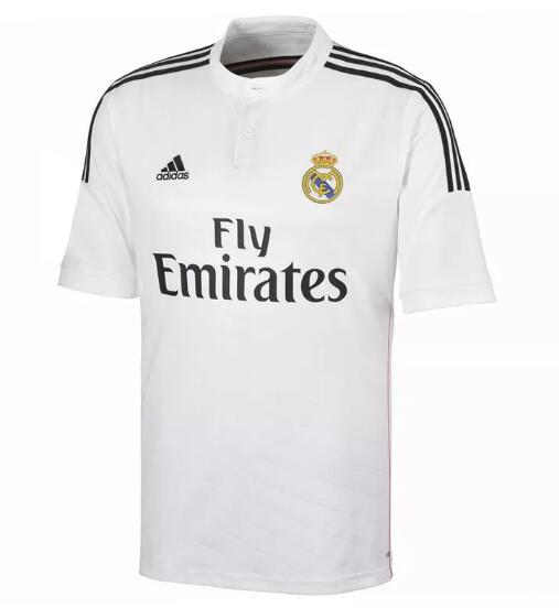 Real Madrid 2014-15 Home Retro Cheap Soccer Jerseys
