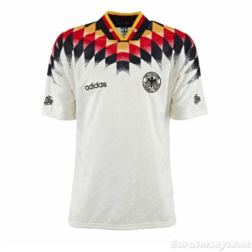 West Germany 1994 Home Retro Cheap Soccer Jerseys