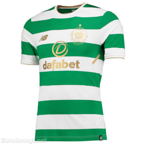 Celtic Home Best Wholesale Football Kit 2017-18 Cheap Soccer Jerseys