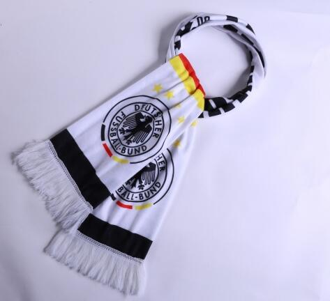 Germany 2018 World Cup White Soccer Scarf
