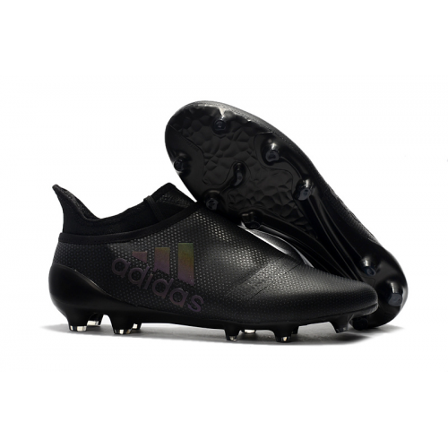 AD X 17+ Purechaos FG Soccer Cleats-All Black