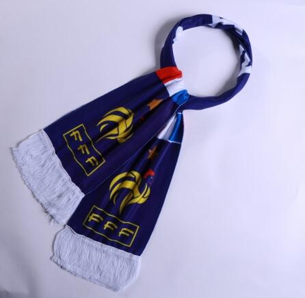 France 2018 World Cup Blue Soccer Scarf