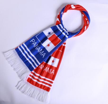 Panama 2018 World Cup Red Soccer Scarf
