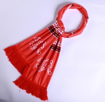 Switzerland 2018 World Cup Red Soccer Scarf
