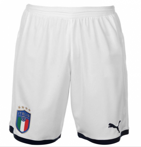 Italy Home Soccer Shorts 2018 World Cup