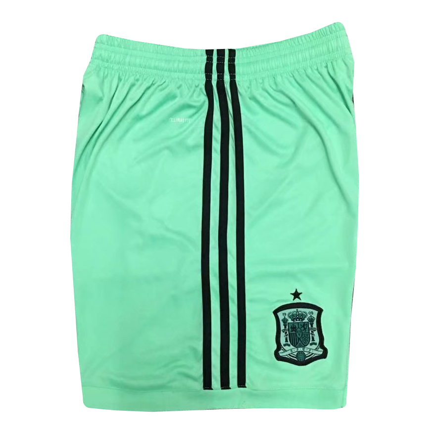 Spain Goalkeeper Shorts 2018 World Cup Green