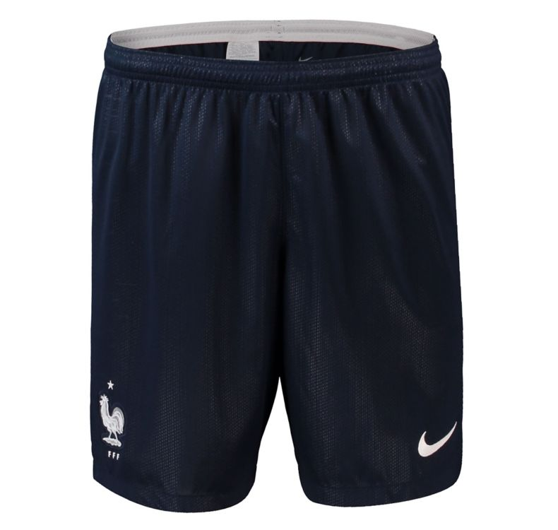 France Away Soccer Shorts 2018 World Cup