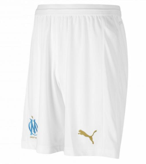 Marseille Home Shorts 2018-19