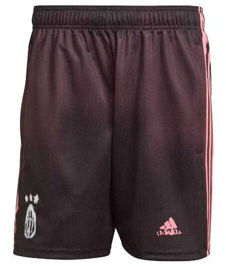 Juventus Soccer Shorts 2020-21 Human Race Football Pants