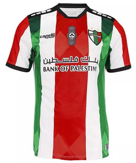 Club Deportivo Palestino Soccer Jerseys 2021-22 Home Football Shirts