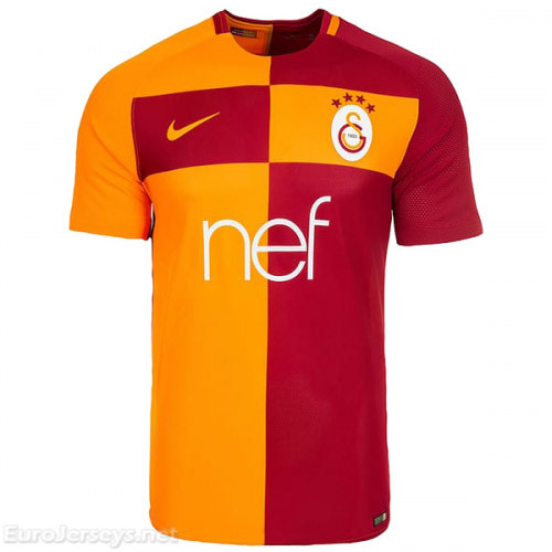 Galatasaray 2017-18 Home Shirt Soccer Jersey