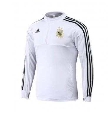 Argentina Sweat Shirt Top White World Cup 2018
