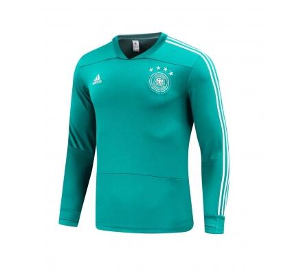 Germany Sweat Shirt Top Blue World Cup 2018