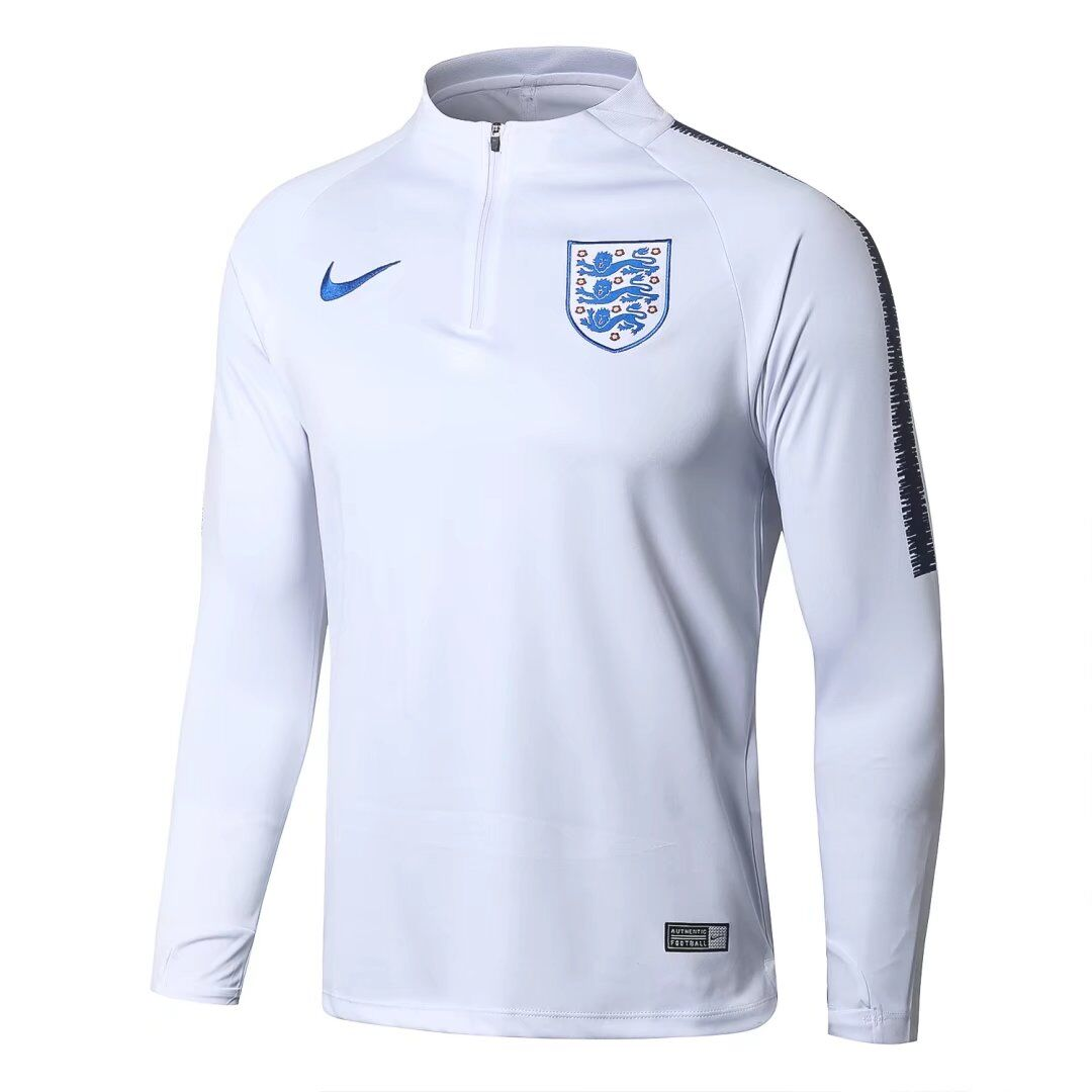 England Sweat Shirt Top White World Cup 2018