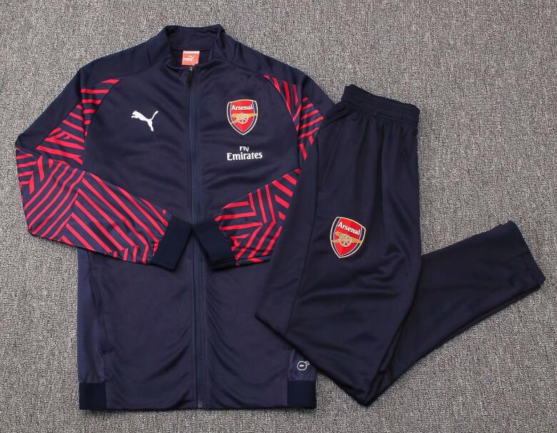 Arsenal Tracksuit 2018-19 Blue Jacket Top + Pants