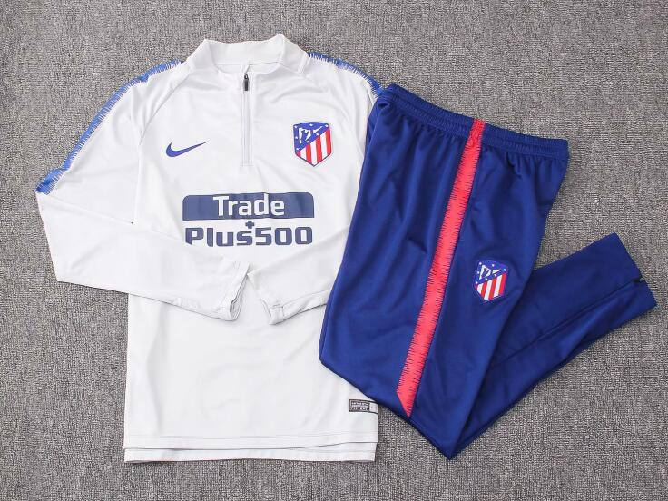 Atletico Madrid Tracksuit 2018-19 Grey Sweat Top + Pants