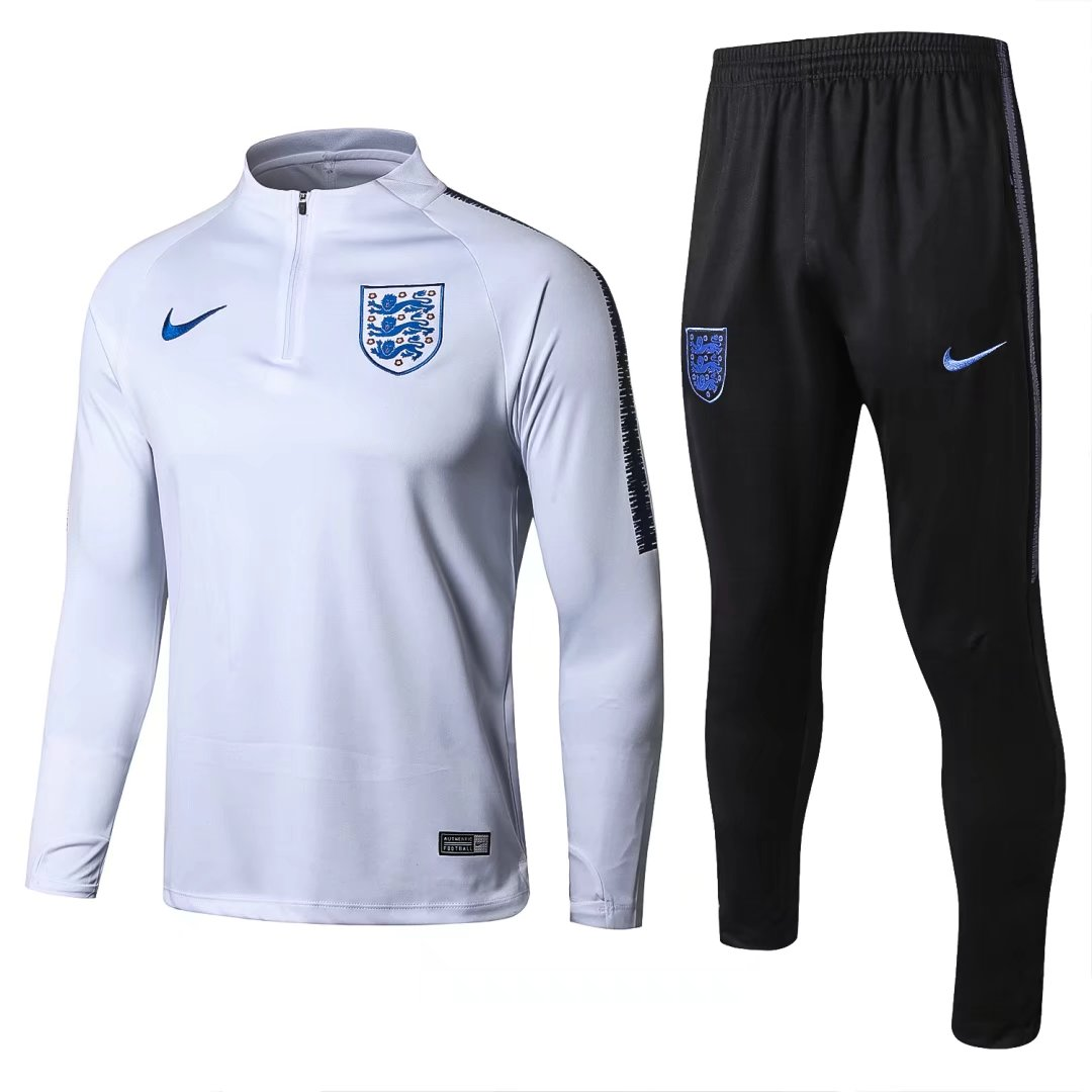 England Training Suit World Cup 2018 White Top + Pants