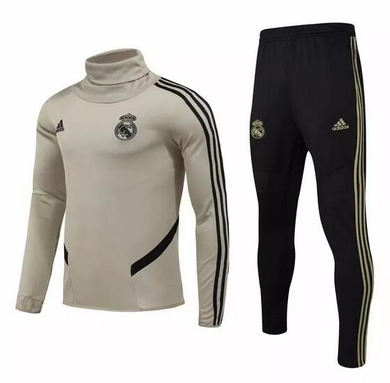 Real Madrid Tracksuit 2019-20 Apricot Sweat Top + Pants