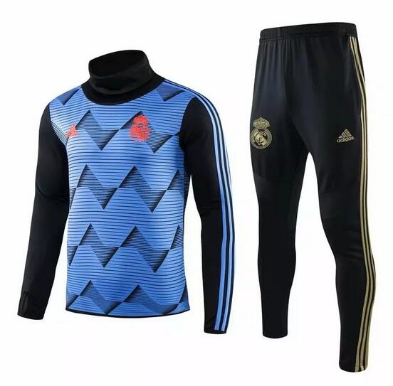 Real Madrid Tracksuit 2019-20 Blue Sweat Top + Pants
