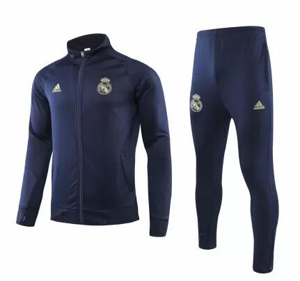 Real Madrid Tracksuit 2019-20 Navy Jacket Top + Pants