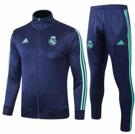 Real Madrid Tracksuit 2019-20 Blue Jacket Top + Pants
