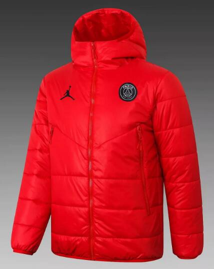 PSG Cotton Jacket 2020-21 Red