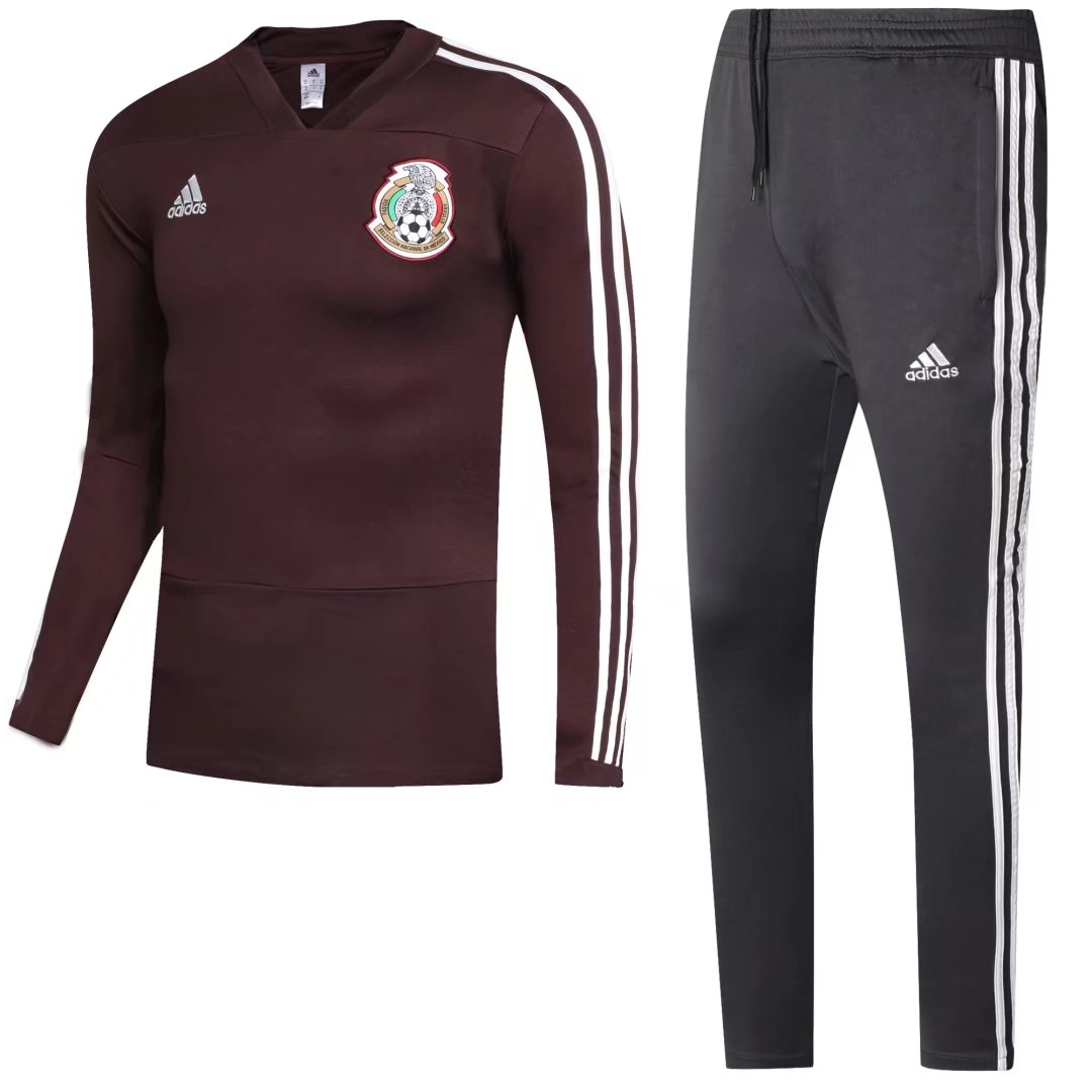 Mexico Training Suit World Cup 2018 Coral