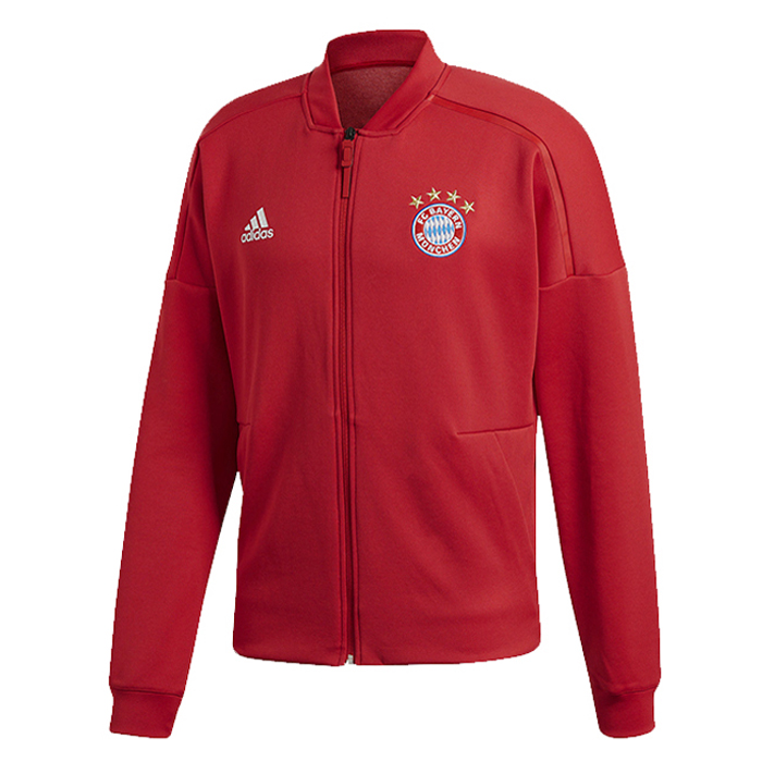 Bayern Munich Training Jacket Top 2018-19 Red ZEN