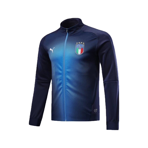Italy Training Jacket Top Blue 2018-19