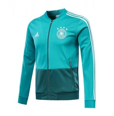 Germany Training Jacket Top Green 2018 World Cup