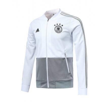 Germany Training Jacket Top White 2018 World Cup