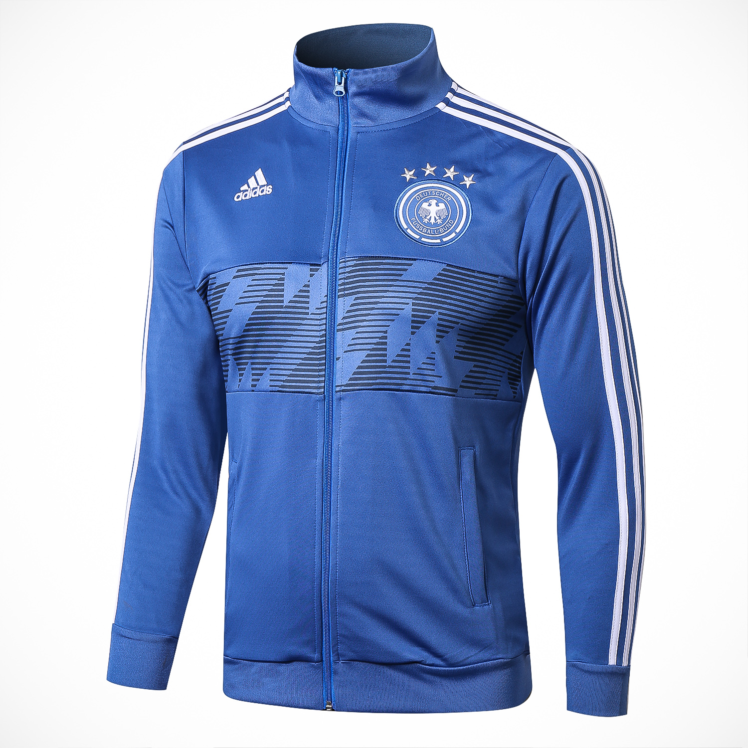 Germany Training Jacket Top Blue 2018 World Cup