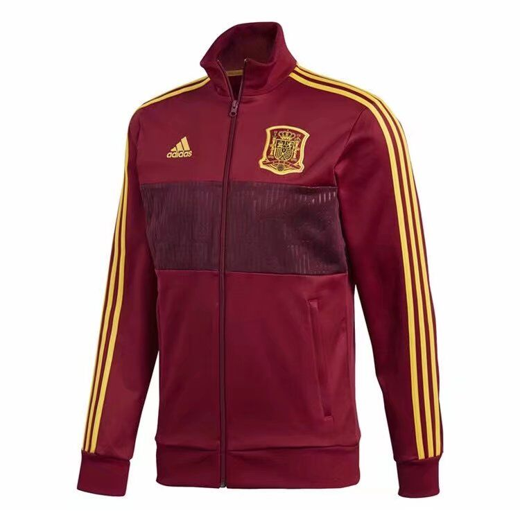 Spain Training Jacket Red 2018 World Cup