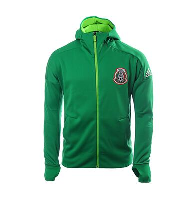 Mexico Full Zip Hoody Jacket Green 2018 World Cup