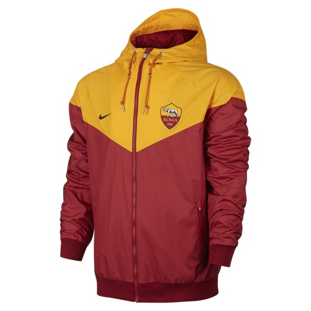 Roma Woven Windrunner 2018-19 Yellow Red