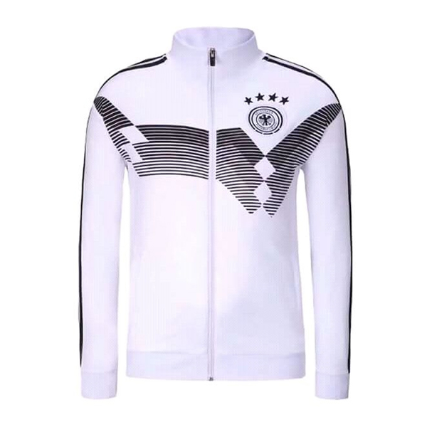 Germany 2018 Jacket High Neck Black and White