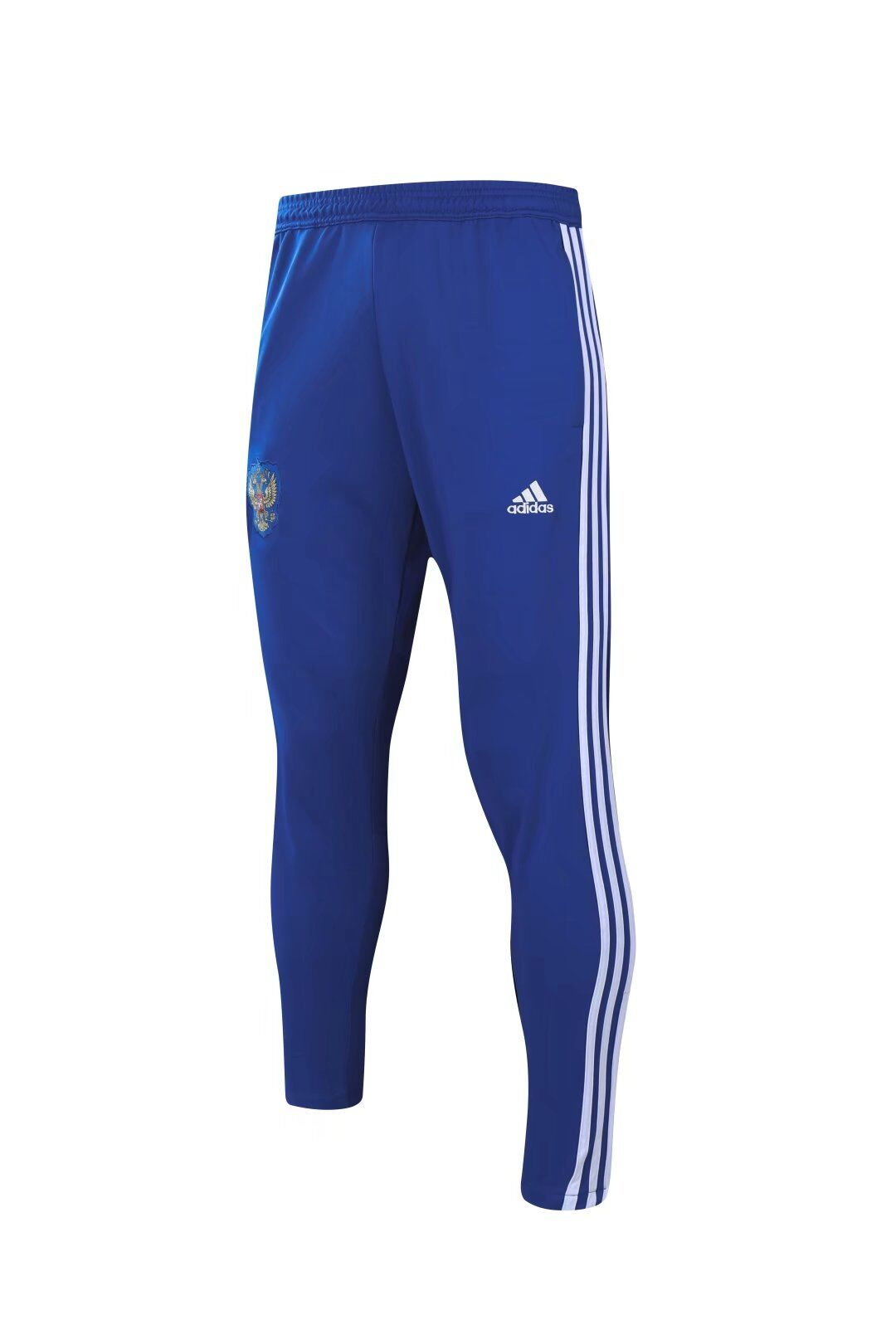 Russia Training Sports Pants Blue With White Stripe World Cup 2018