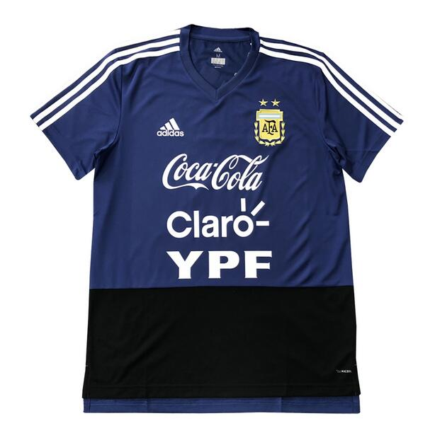 Argentina Training Jersey Shirt 2018-19 Blue