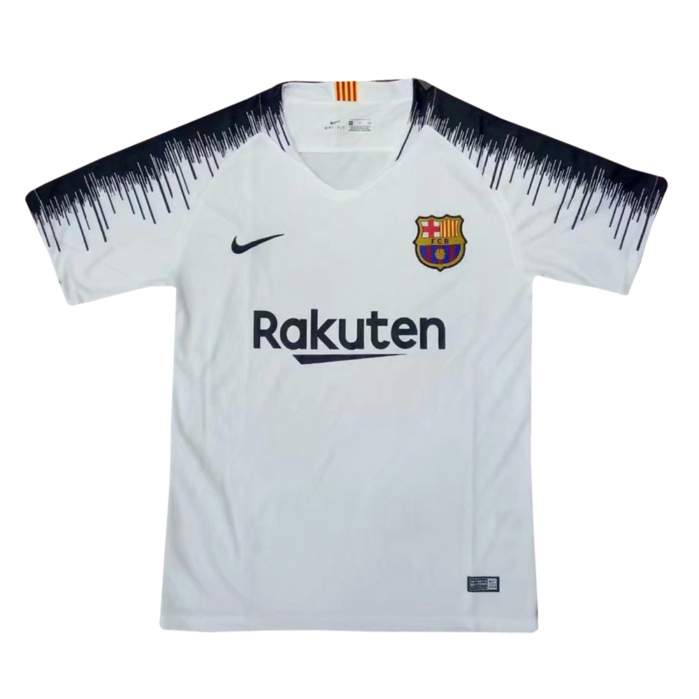 Barcelona Training Jersey Shirt 2018-19 Grey