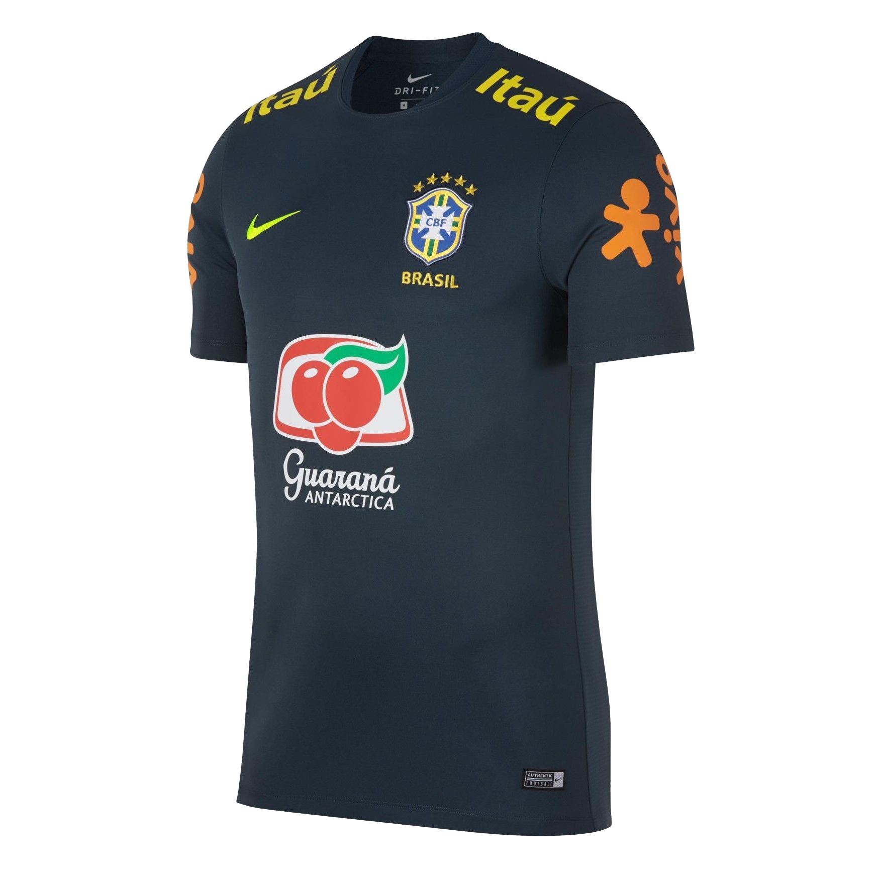 Brazil Training Jersey Shirt 2018-19 Green