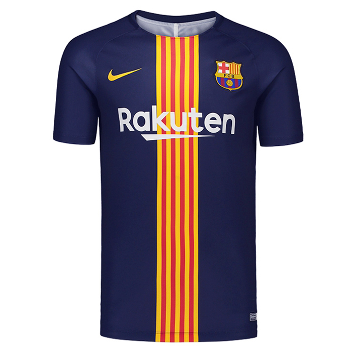 Barcelona Training Shirt 2018-19 Navy