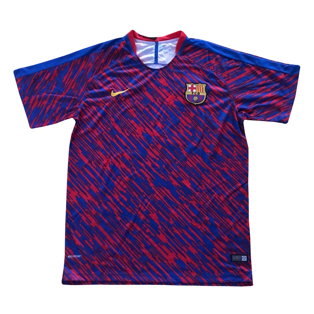 Barcelona 2018 Red Blue Training Shirt