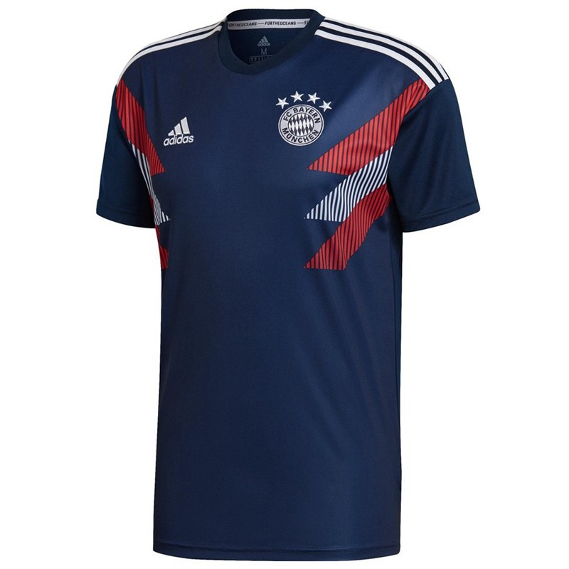 Bayern Munich Training Shirt 2018-19 Navy