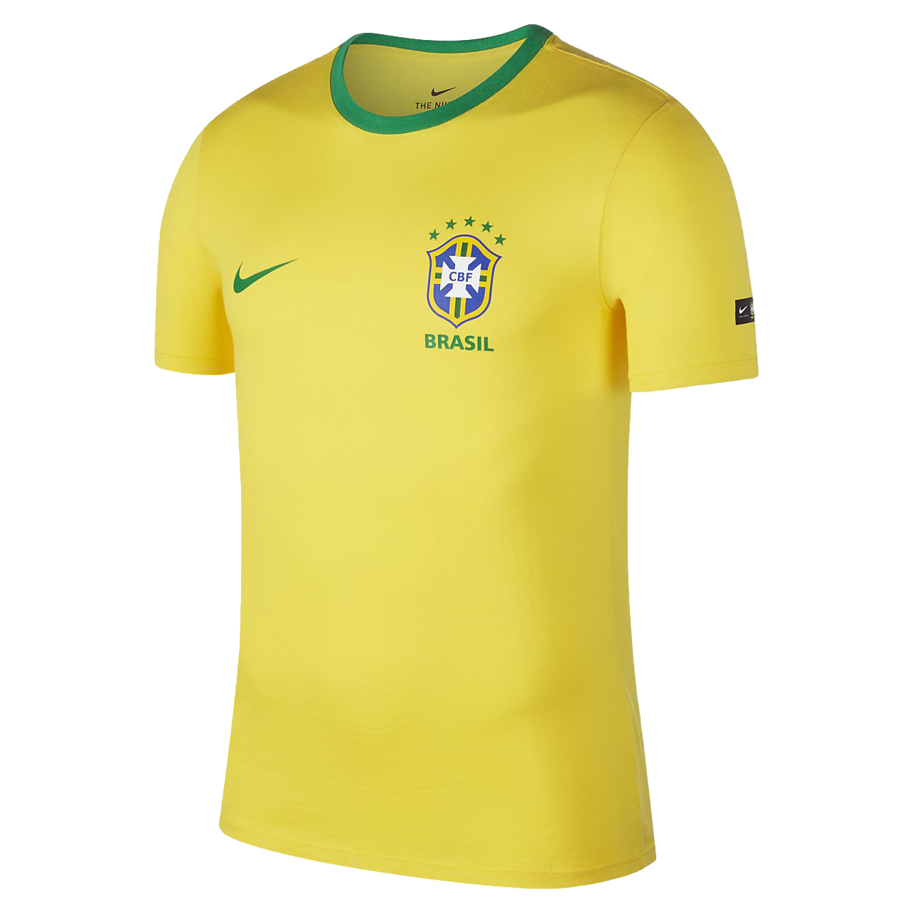 Brazil T-Shirt World Cup 2018 Yellow Men