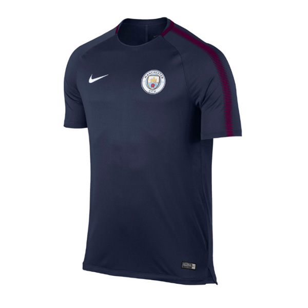Manchester City 2017-18 Navy Training Shirt