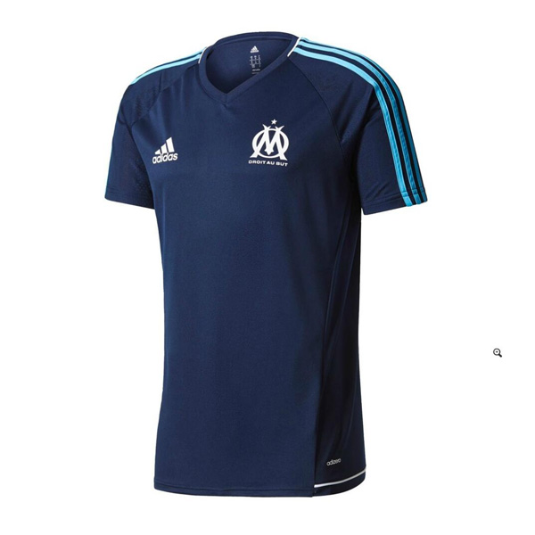 Olympique Marseille 2017-18 Dark Blue Training Shirt