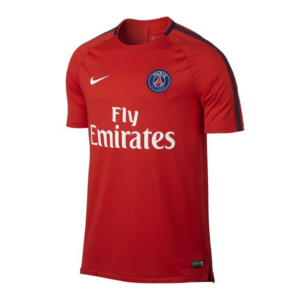 PSG 2017-18 Red Training Shirt