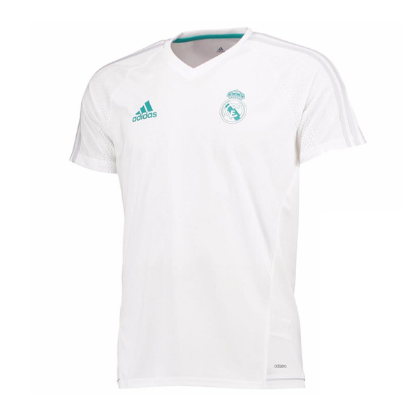 Real Madrid 2017-18 White Training Shirt