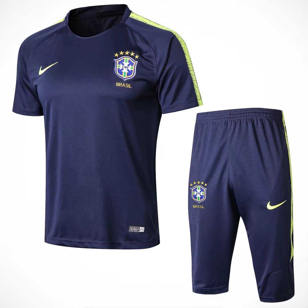 Brazil Short Training Suit World Cup 2018 Royal Blue